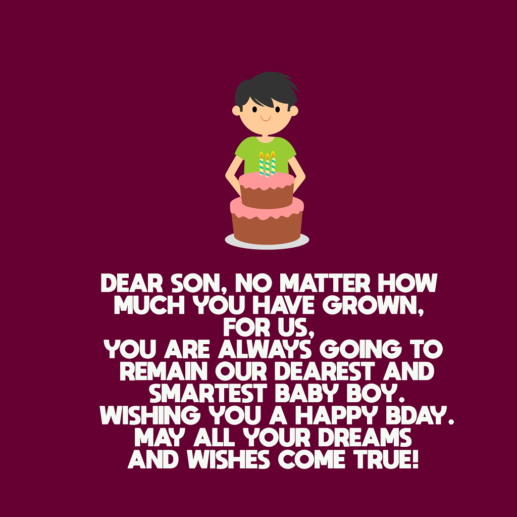 Tremendous Top 220 Birthday Wishes For Son Top Happy Birthday Wishes Funny Birthday Cards Online Alyptdamsfinfo