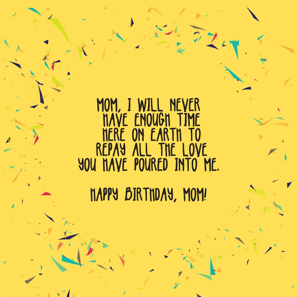 Happy Birthday Mom Messages and Wishes-07