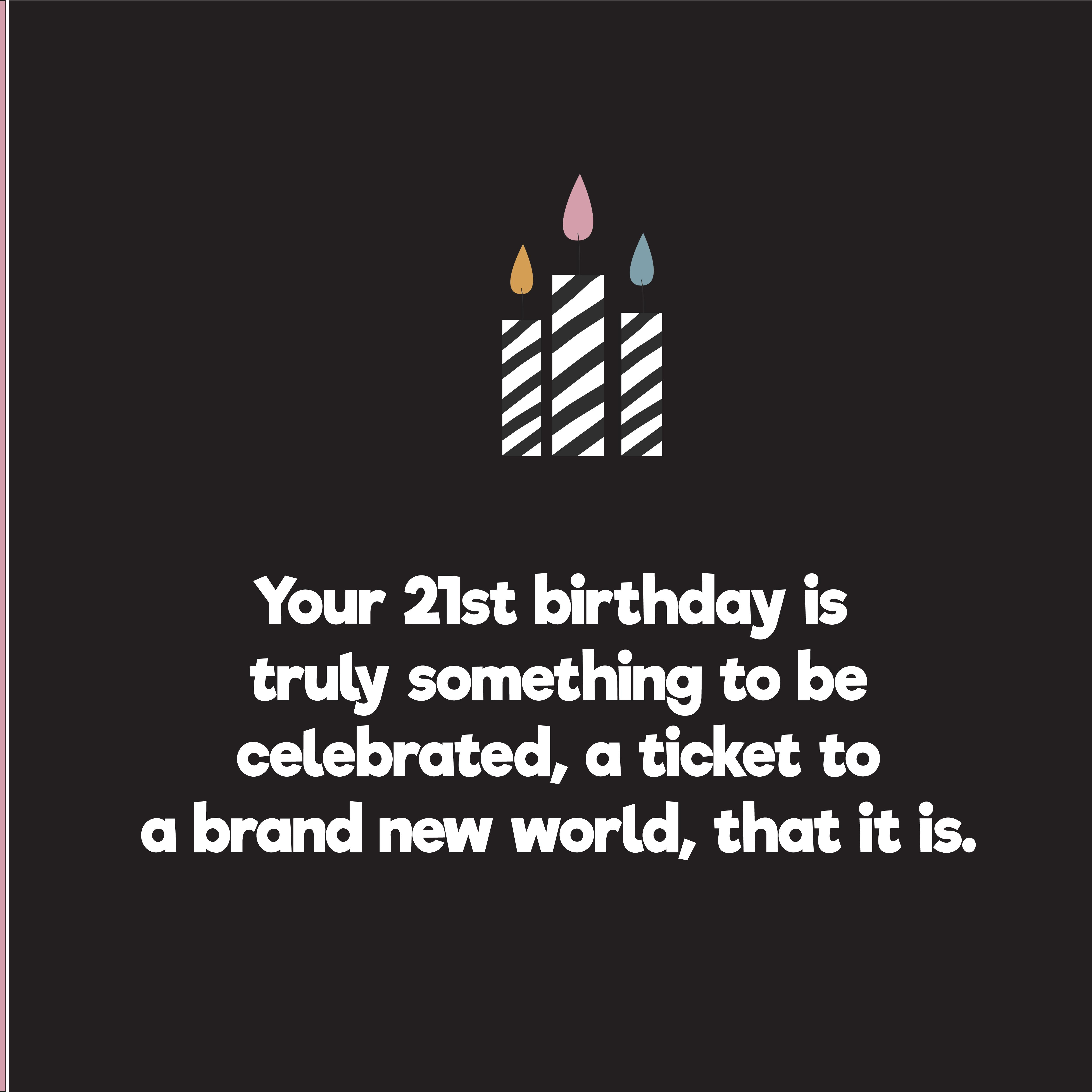 Birthday Quotes For Niece Turning 21