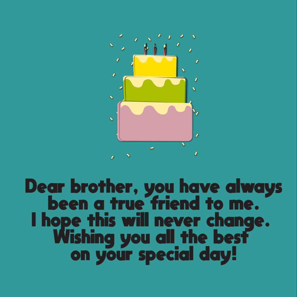 happy birthday wishes for brother 22