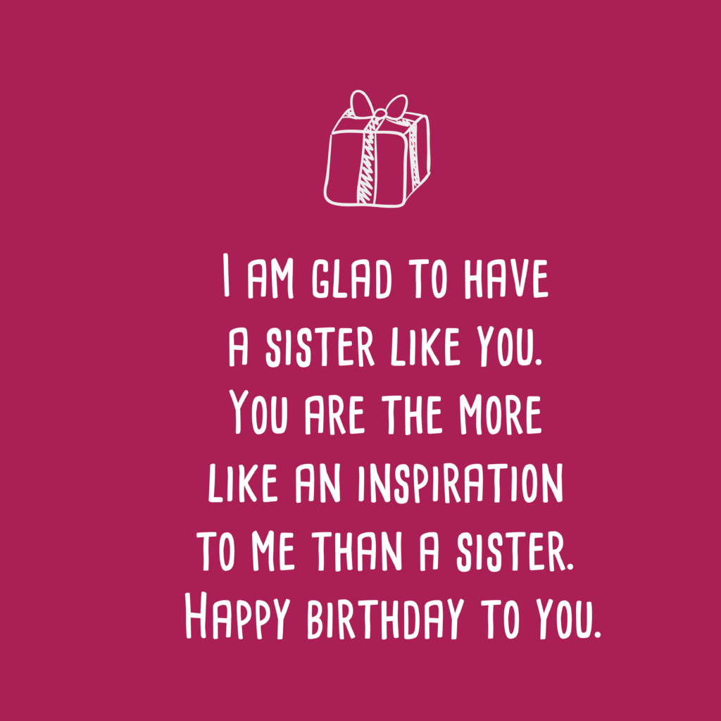 happy birthday wishes for sister 12