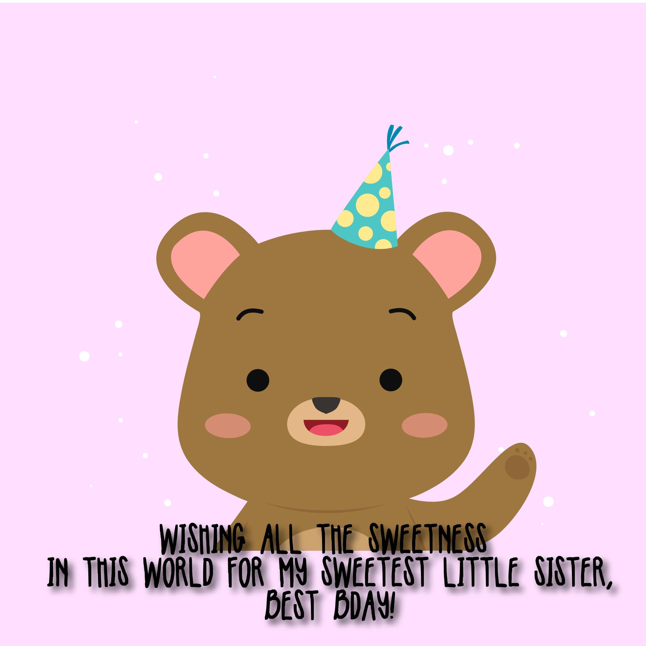 The 210 Happy Birthday Little Sister Quotes and Wishes – Top