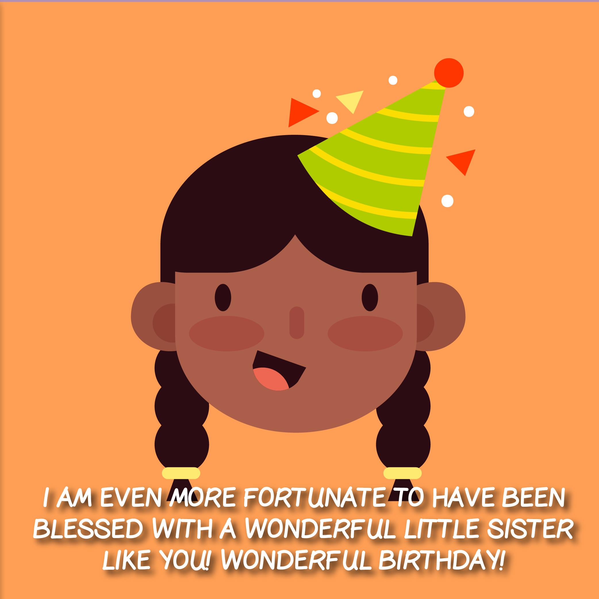 The 210 Happy Birthday Little Sister Quotes and Wishes – Top ...