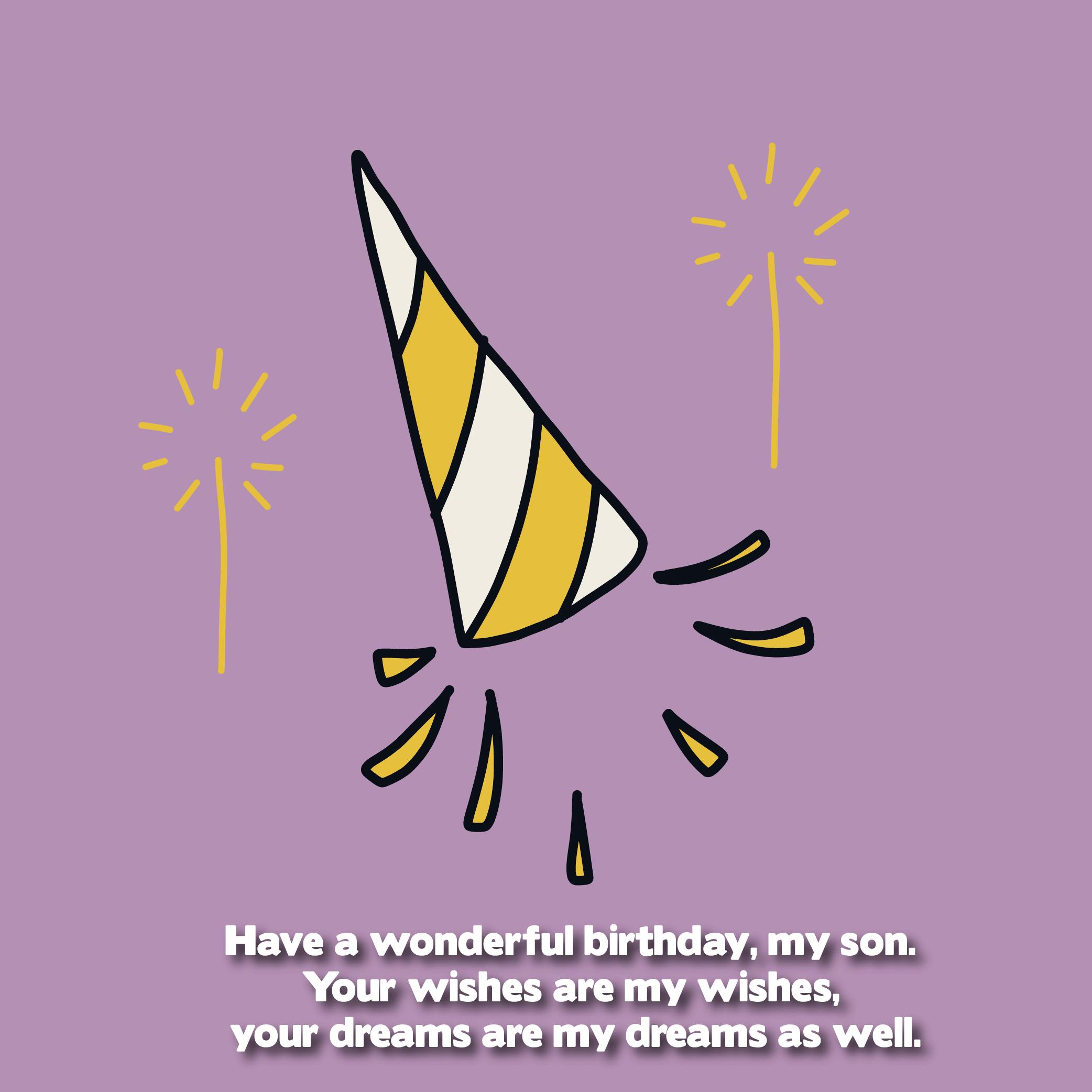 Pleasing The 200 Happy Birthday Son From Mom Top Happy Birthday Wishes Personalised Birthday Cards Veneteletsinfo